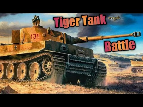 Tiger Tank Battle