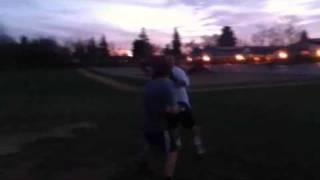 Little Nerd Beats Up Big Bully KO