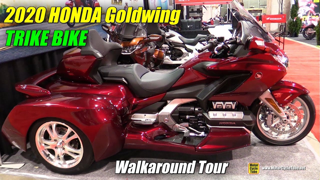 2019 honda goldwing trike bike - walkaround - 2019 quebec motorcycle show