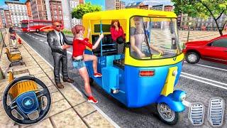 Modern Tuk Tuk Rickshaw Driving - City Mountain Auto Driver 2020 - Best Android GamePlay screenshot 3