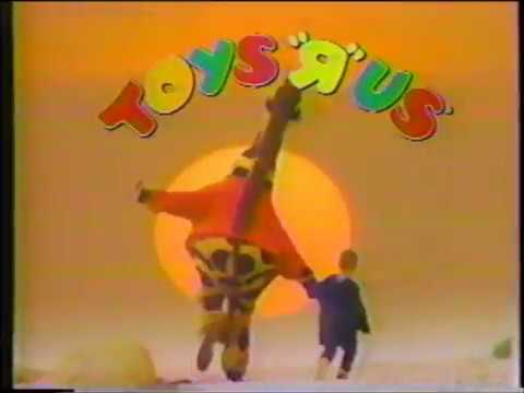 Toys R Us Commercial Jingle I Don T Wanna Grow Up 1990 Youtube