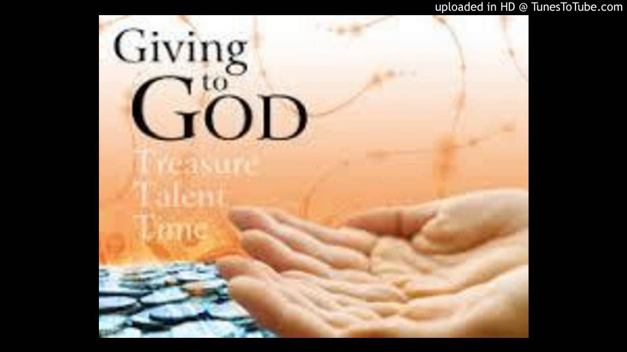 YOU CAN'T BEAT GOD'S GIVING - YouTube