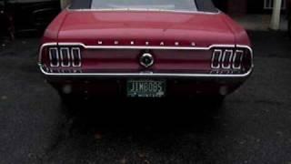 jims 347 powered 68 mustang convertible