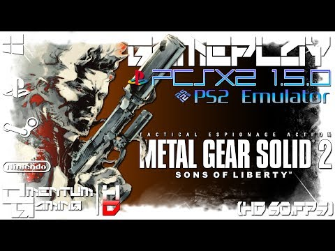 Metal Gear Solid 2: Substance - PCSX2 1.5.0 | PS2 Emulator Gameplay | HD.1080p 60ᶠᵖˢ