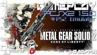 Metal Gear Solid 2: Substance - PCSX2 1.5.0 | PS2 Emulator Gameplay | HD.1080p 60ᶠᵖˢ