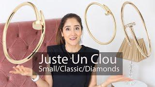 Juste Un Clou bracelet small vs regular (in-depth review) YouTube Videos