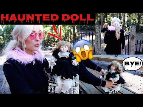 i left my Haunted Doll at a Haunted Cemetery .. GHOST INVESTIGATION