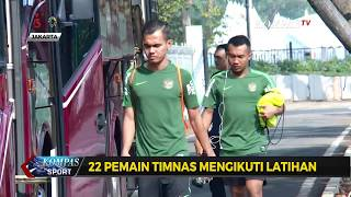 Timnas U-23 Latihan Tertutup di Lapangan Senayan