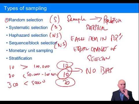 Audit Sampling - ACCA Audit And Assurance (AA)