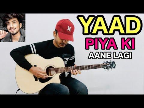 yaad-piya-ki-aane-lagi---faisu,-divya-kumar-&-neha-kakkar---full-song-guitar-cover-by-fuxino-|-2020