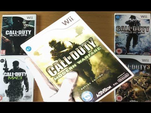 EVERY COD FOR NINTENDO WII - Call Of Duty Modern Warfare Reflex Edition Gameplay