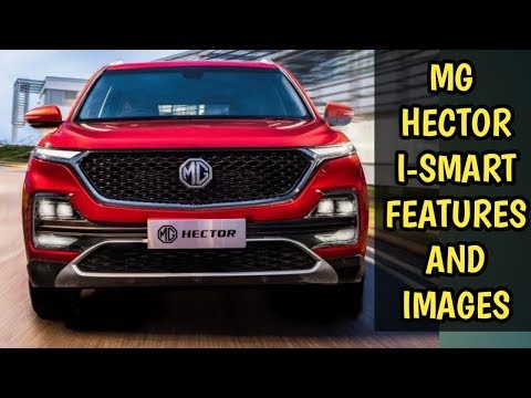MG Hector I-Smart Features Official Video and Features Explained | MG Hector Full Explained