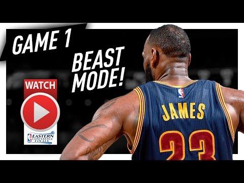 LeBron James Full Game 1 Highlights vs Celtics 2017 Playoffs ECF - 38 Pts, 9 Reb, 7 Ast, BEAST!