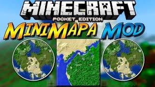 Minecraft PE 0.14.0 MODS - REI'S MINIMAP MOD PARA MINECRAFT PE (POCKET EDITION) 0.14.0