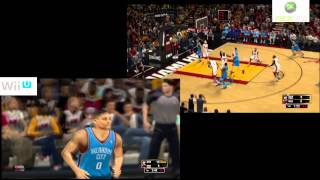 Nba 2k13 DEMO WiiU VS Xbox 360