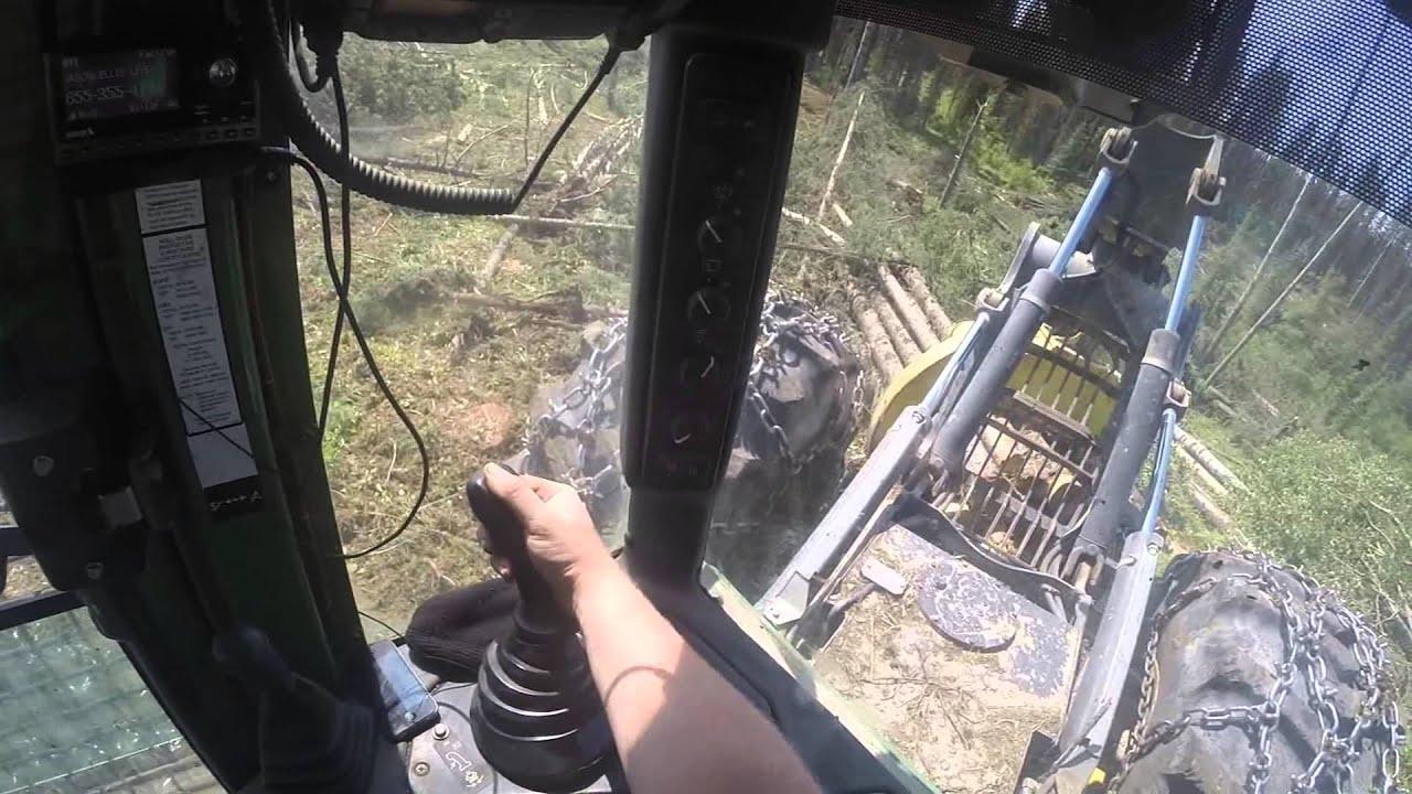 John Deere 748h Skidder Youtube