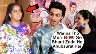 Aayush Sharma Openly FLIRTS With Warina Hussain Even After Wife Arpita Khan's WARNING