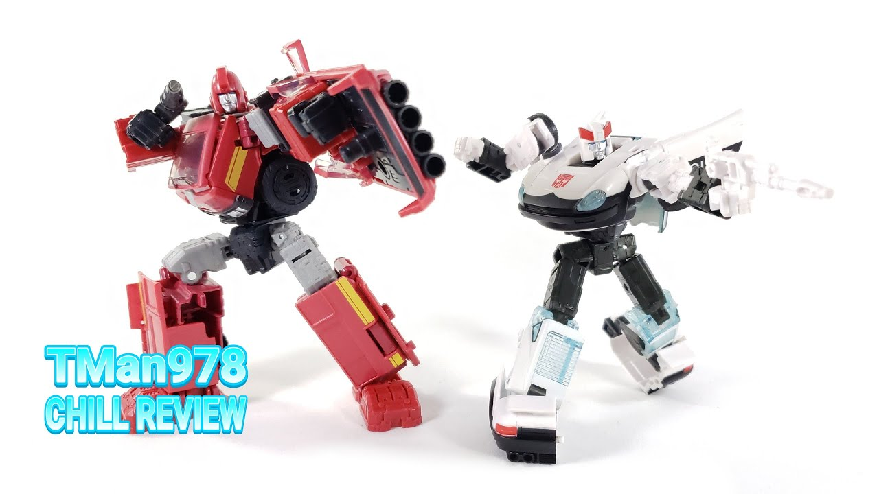 Transformers Earthrise Ironhide & Prowl 2 Pack CHILL REVIEW