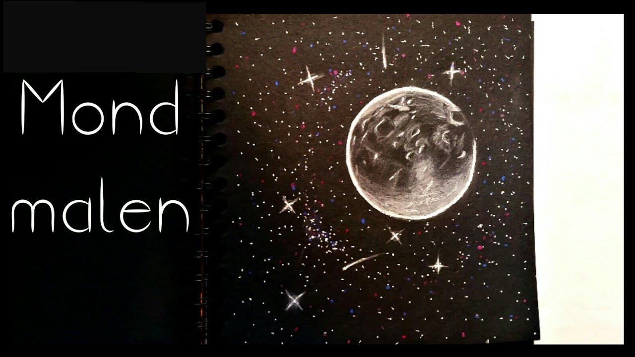 Mond Malen Painting Art Youtube