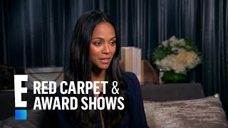 """Zoe Saldana's Schedule Doesn't Get in the Way of """"Sexy Time""""   E! Live from the Red Carpet"""