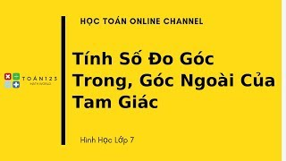 On tap Toan lop 7 lay lai goc cho hoc sinh yeu hinh - P4
