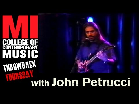 John Petrucci Throwback Thursday From the MI Vault 8/30/1998