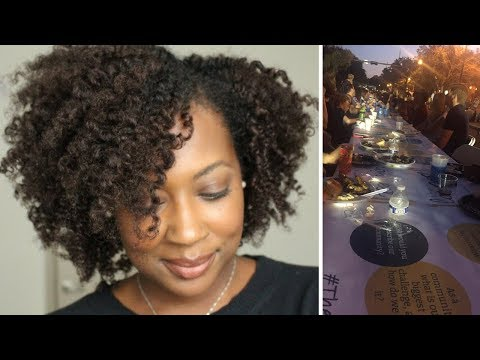 A Vlog | Harpo, Who Dis? New Hair Color, Goals, Alzheimers Walk, Twist Out...
