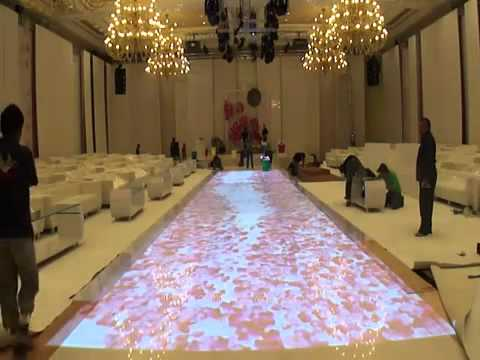 Interactive Floor Projection   Kuwait   YouTube
