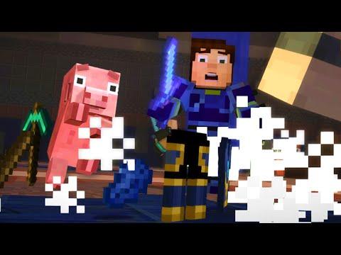 REUBEN? ANOTHER DEATH!   Minecraft Story Mode Episode 8 #2