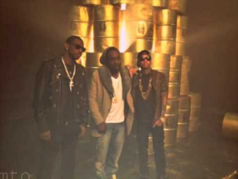 tyga ft wale meek mill young jeezy and ti rack city remix (clean)