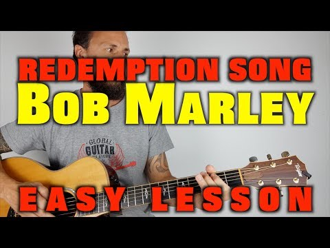Redemption Song - Acoustic Guitar Lesson - Bob Marley
