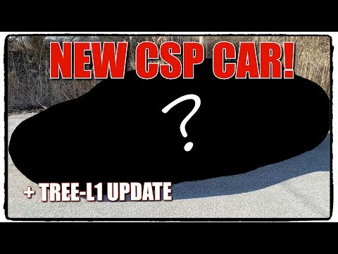 CSP NEW CAR REVEAL!  ALSO Repair Update on Tree-L1!