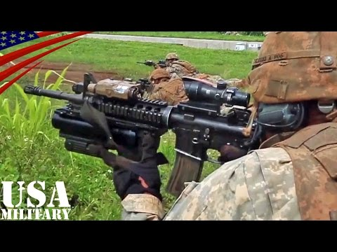 歩兵戦闘訓練 アメリカ陸軍・第25歩兵師団 - Infantry Combat Exercise of U.S. Army 25th Infantry Division