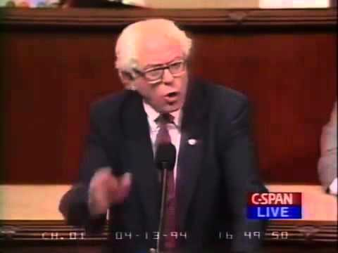 Bernie Sanders on Crime Bill Amendments 1994