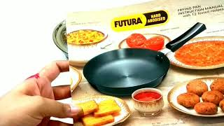 UNBOXING OF HAWKINS FUTURA HARD ANODISED FRYING PAN With stainless steel lid frying pan