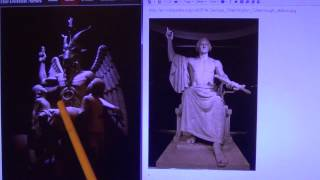 George Washington - Baphomet - Androgynous