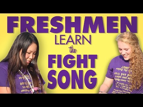 Freshman Learn the Fight Song!