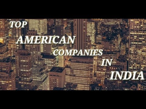 TOP AMERICAN COMPANIES IN INDIA!! Top Biggest Private Companies Of India. US companies in India....