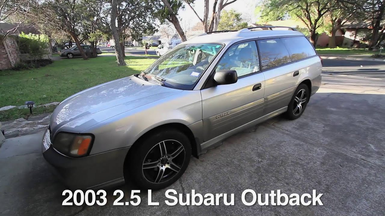 Flowmaster 50 series on a 2003 subaru outback beforeafter youtube flowmaster 50 series on a 2003 subaru outback beforeafter vanachro Image collections