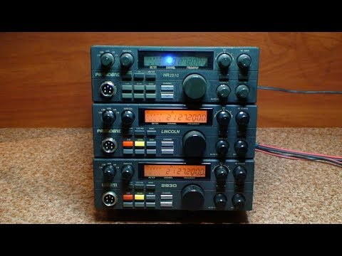 CB Radio Repair & Tuning - Uniden 2830 - President Lincoln - President HR 2510