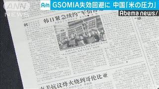 GSOMIA失効回避は「米の圧力」 中国メディア(19/11/25)