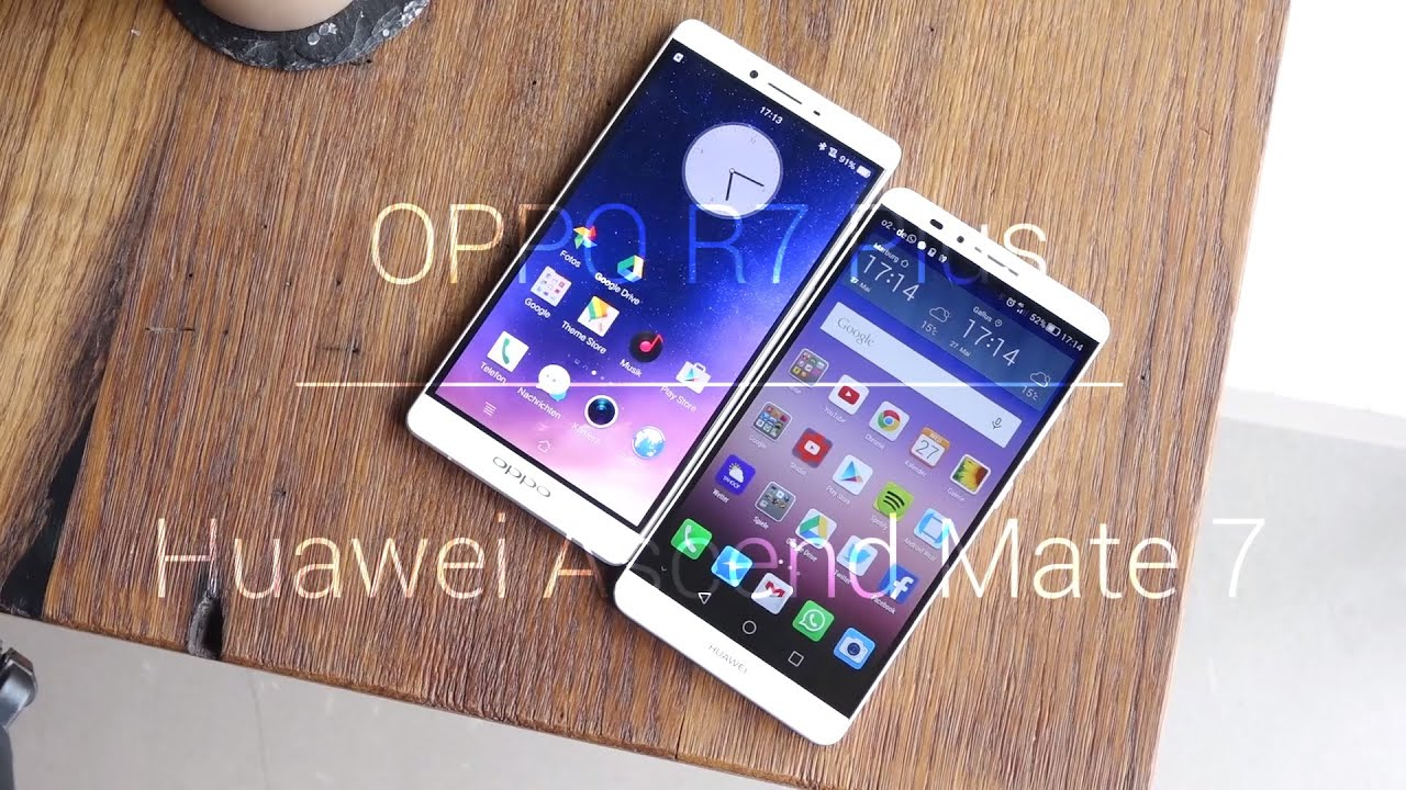 Gold oppo r7 plus vs huawei ascend mate 7 and conditions