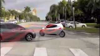Lit Motors -- C1 Fully-Enclosed Self-Balancing Motorcycle