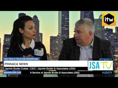 ITW 2017: Interview with Pinnaca CEO, Clive Sawkins  | Latest Telecom News