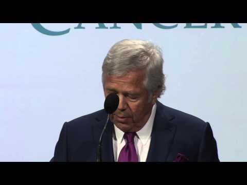 Robert Kraft and Peter L. Slavin, MD  Mass General's the one hundred 2014