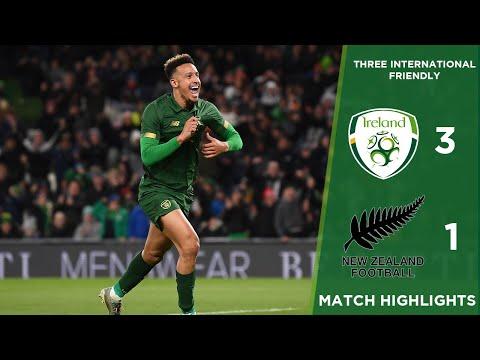 GOALS   Ireland 3-1 New Zealand