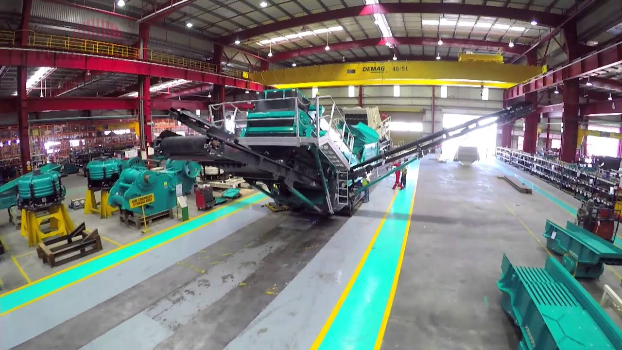 Powerscreen world class manufacturing in hosur india for World class photos pictures