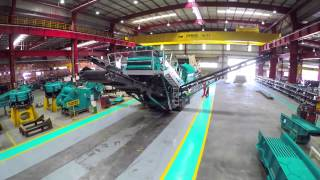 Powerscreen World Class Manufacturing in Hosur, India