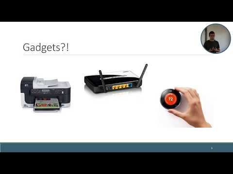 Lecture 6: Web servers for the Internet of Things (updated version)