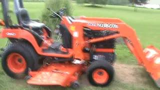 2003 Kubota BX2200 Sub Compact Tractor Loader Belly Mower For Sale
